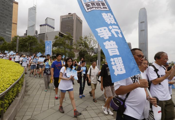 Hong Kong Pro-Democracy Referendum