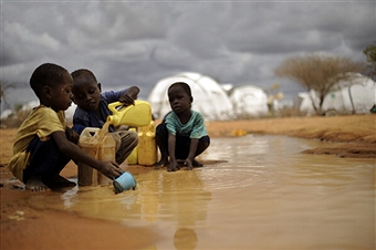 Refugee camp Kenya