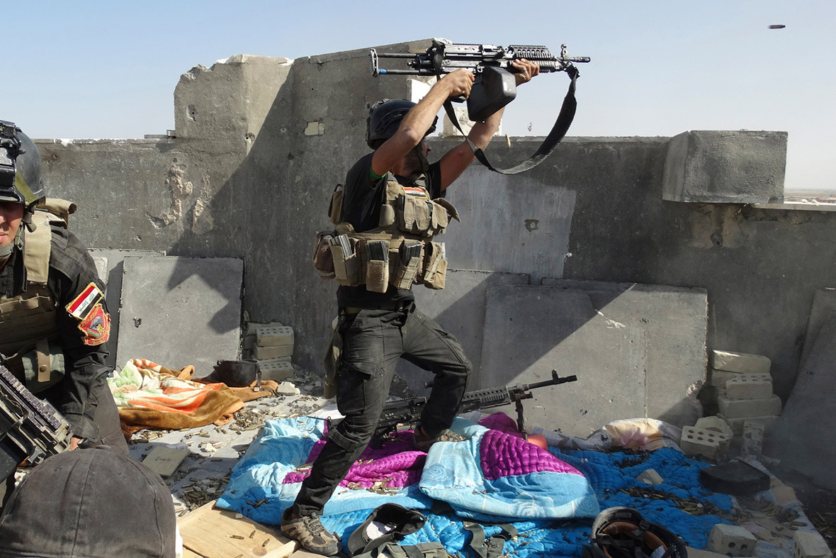 iraqi special forces ISIS Ramadi