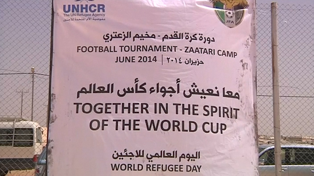 Syrians Living in Jordanian Camp Mark World Refugee Day