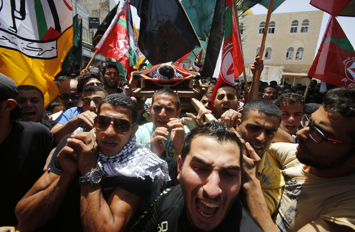 Palestinians Hold Funeral for Teenager Killed by Israeli Soldiers