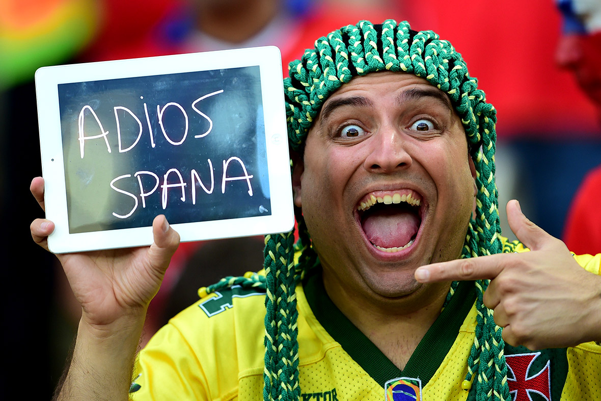 world cup Spain out
