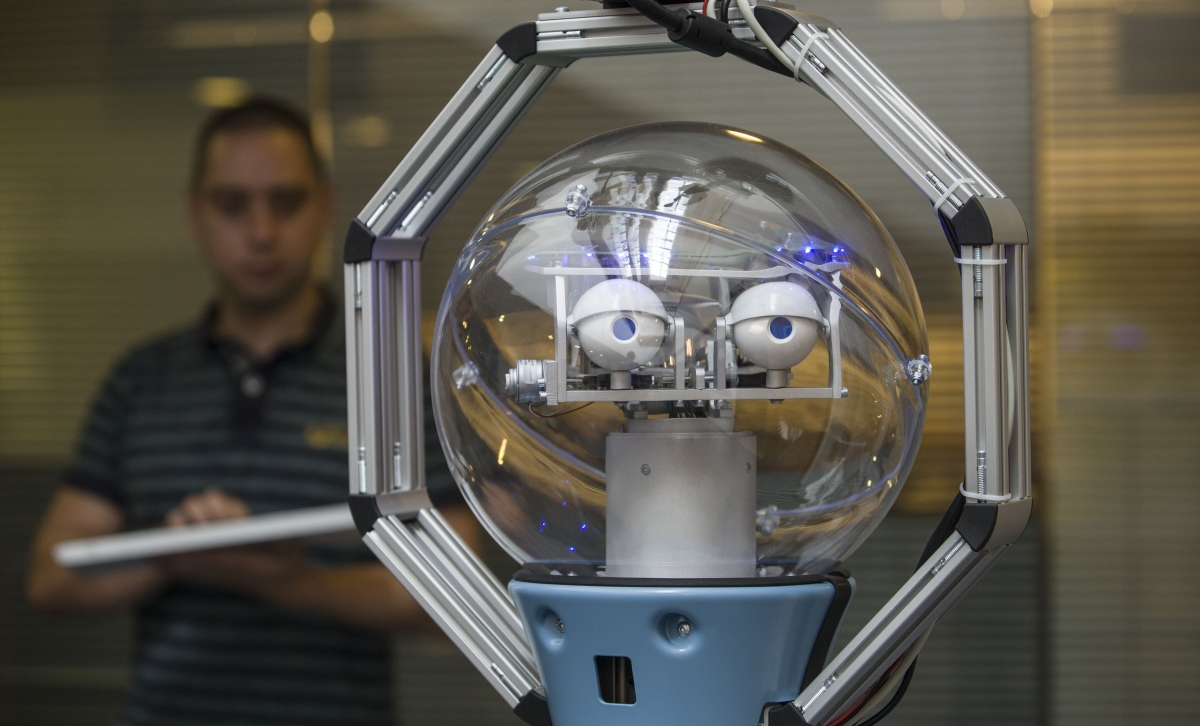 Bob, the UK's first autonomous robot security guard
