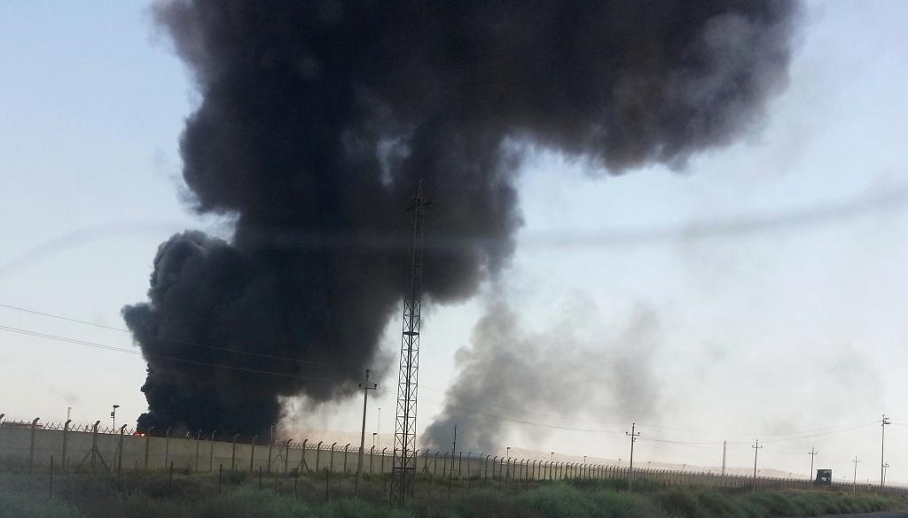 Oil Refinery Baiji Iraq