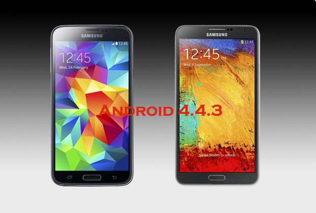 Galaxy Note 3 and Galaxy S5