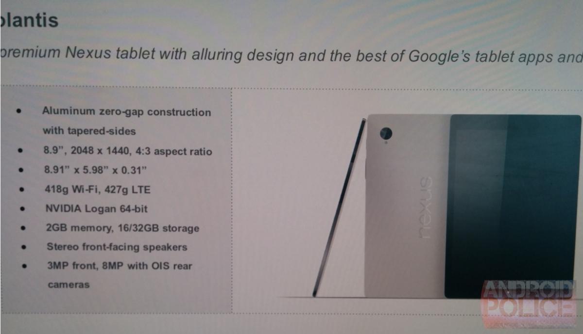 Nexus 8.9
