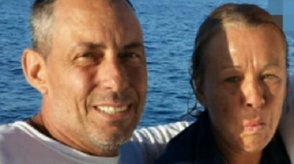Sean McGovern, 50, and Melissa Morris, 52, suffered from hypothermia and jellyfish stings after 14 hours stranded at sea.