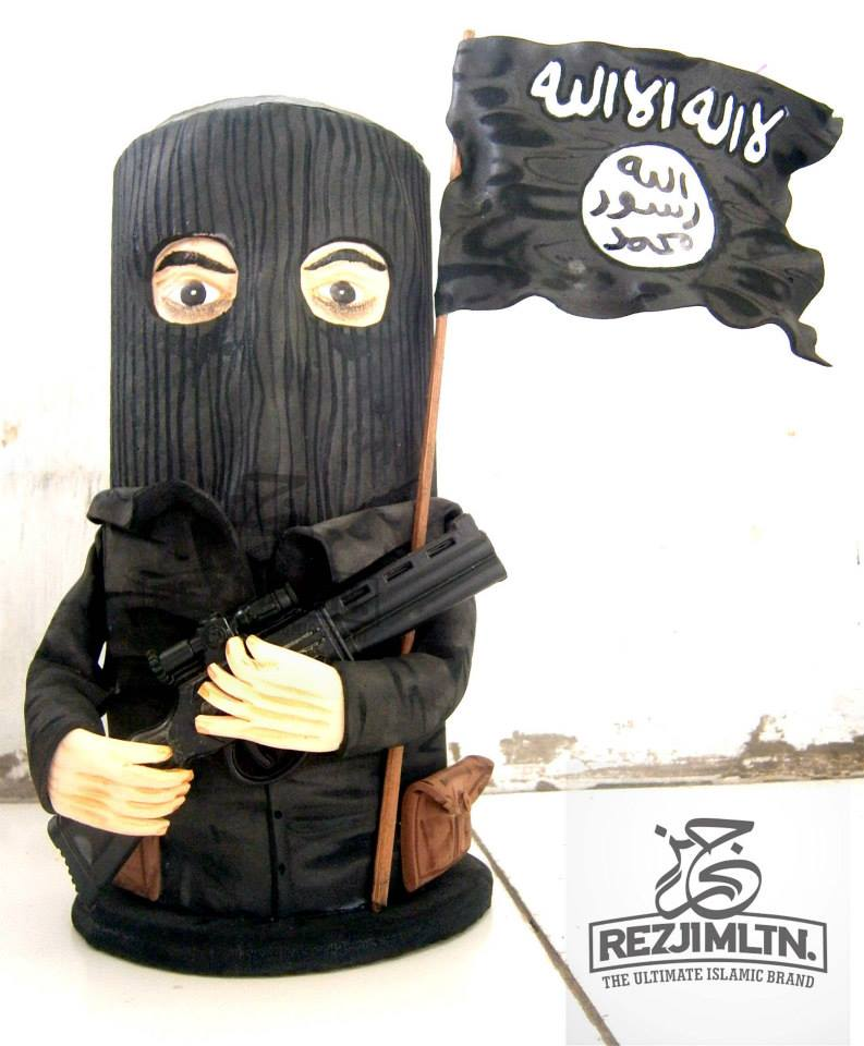 ISIS figurine, sold by ReziMLTN, 'The Ultimate Islamic Brand', according to its homepage. (Facebook)