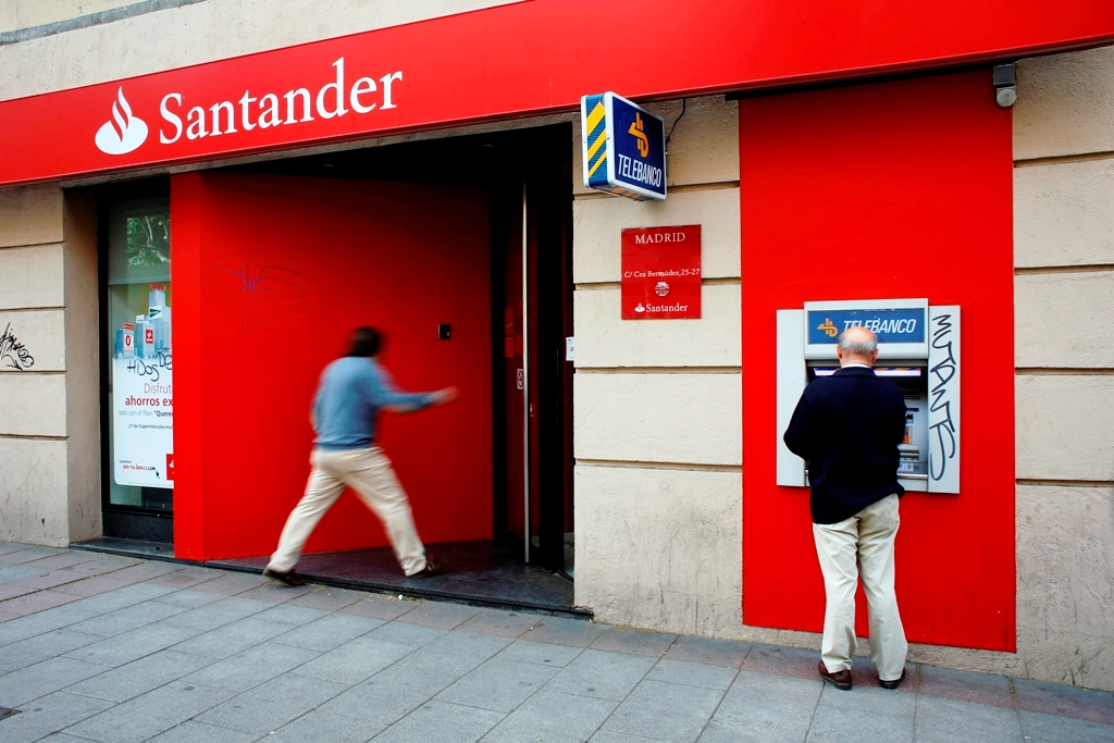 Banco Santander Madrid Spain
