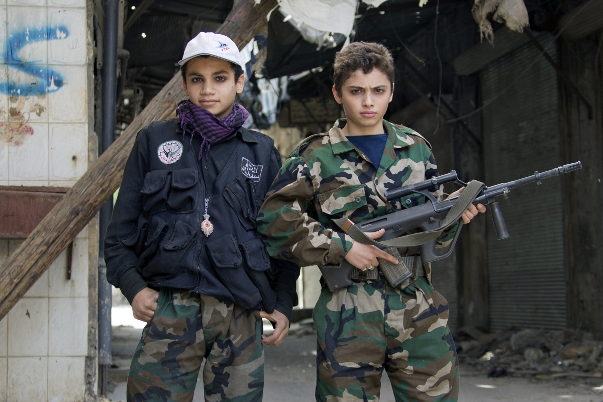 Syria child soldiers