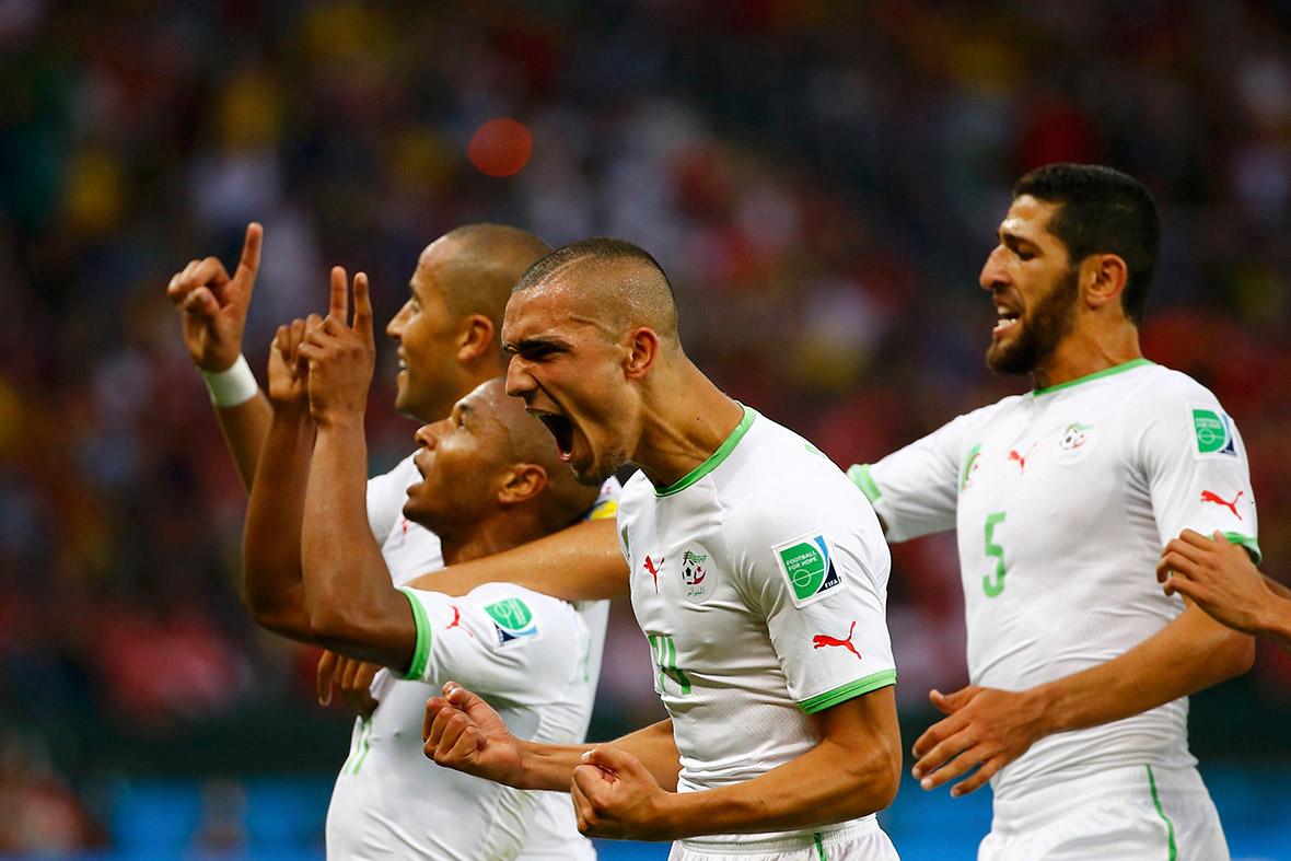 world cup algeria