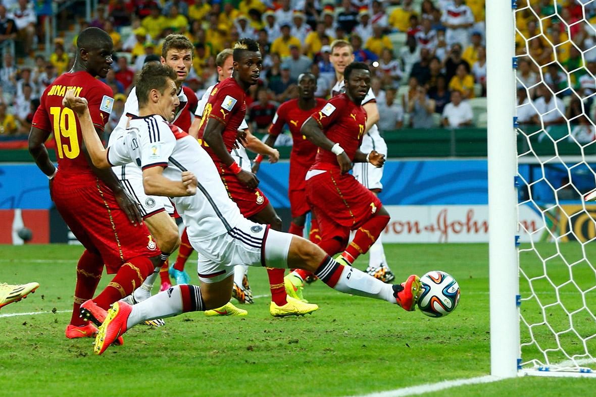 world cup germany ghana klose