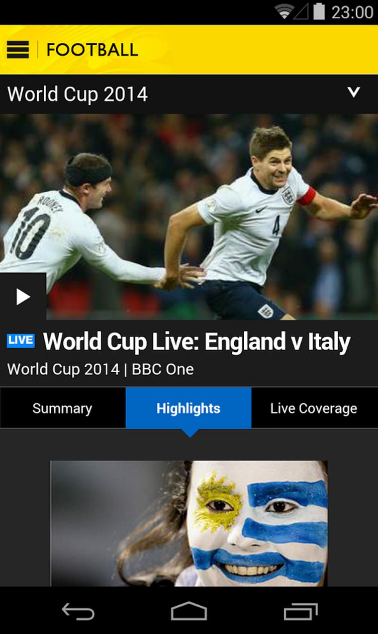 BBC Sport App - Wimbledon Live Coverage