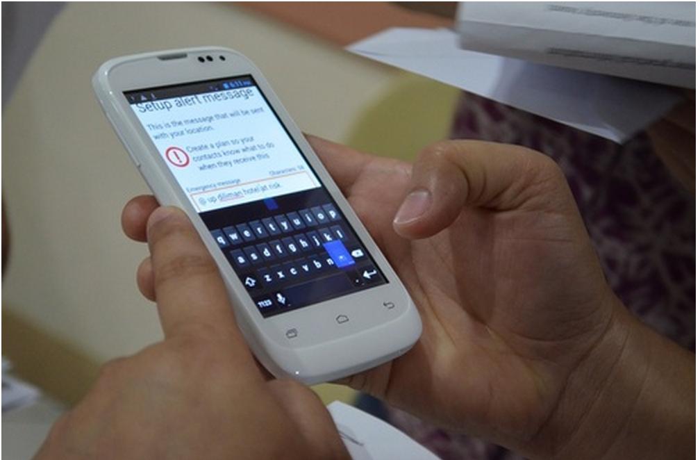 Amnesty International Panic Button App