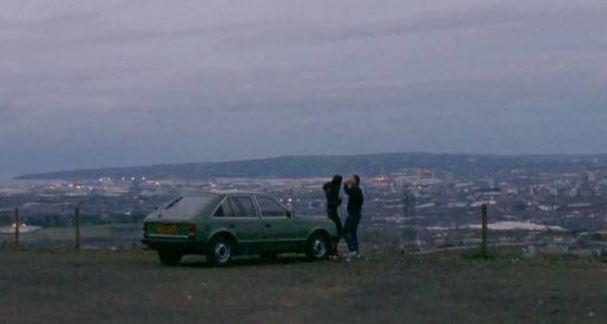 A still from DJ Wilkinson's video Half Light