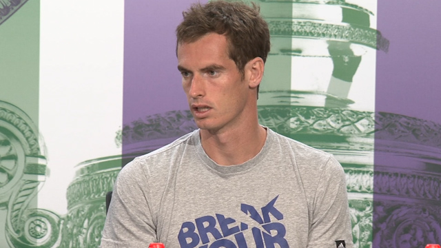 Andy Murray on His Wimbledon Chances