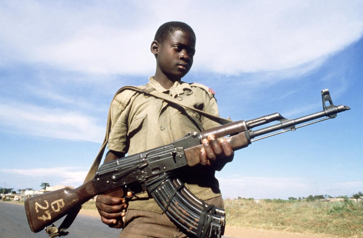 Uganda child soldier