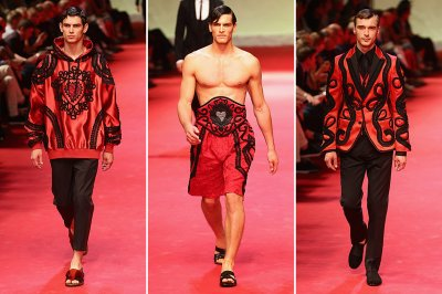 milan mens fashion week Dolce and Gabbana