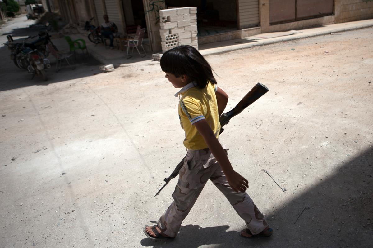 Child soldier Syria