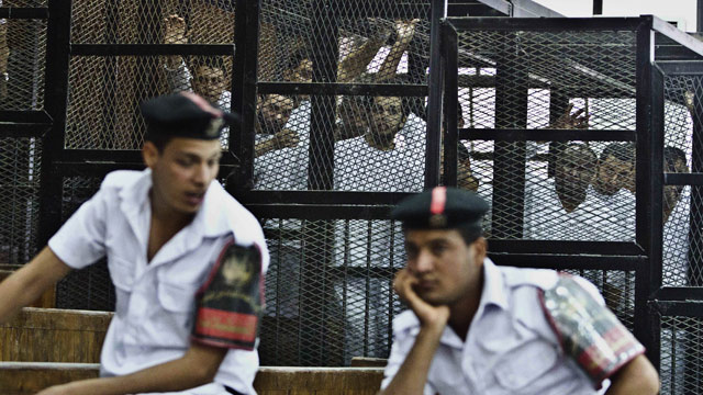 Three Al Jazeera Journalists Jailed in Egypt