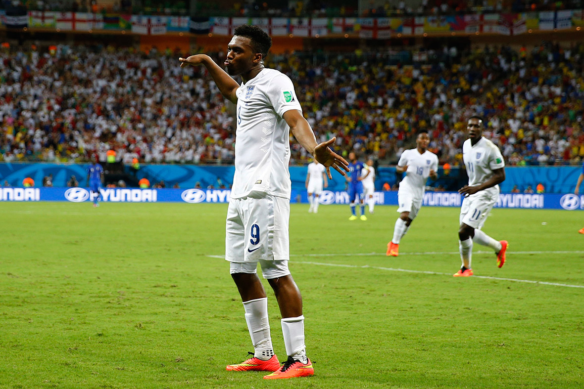 world cup goal celebration daniel sturridge