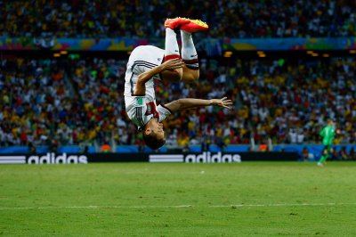 world cup goal celebration klose germany