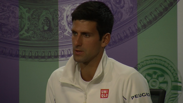 Novak Djokovic on His and Murray's Wimbledon Chances