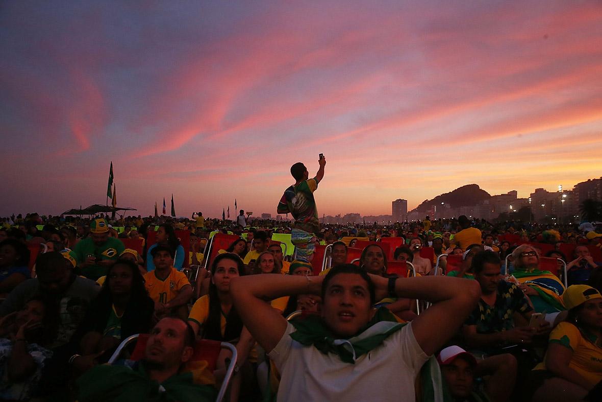 world cup brazil fans