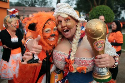 world cup fans netherlands