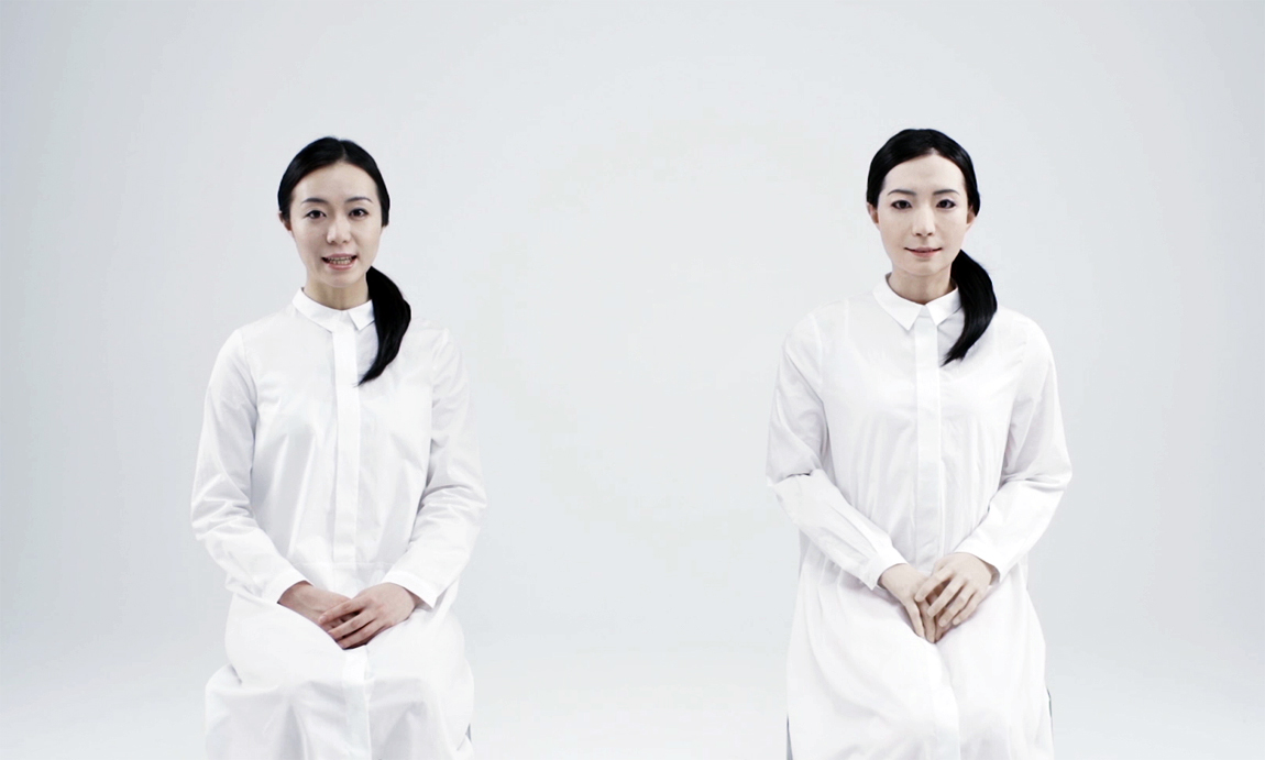 Human Or Machine Life-Like Android Robots From Japan Show -5243
