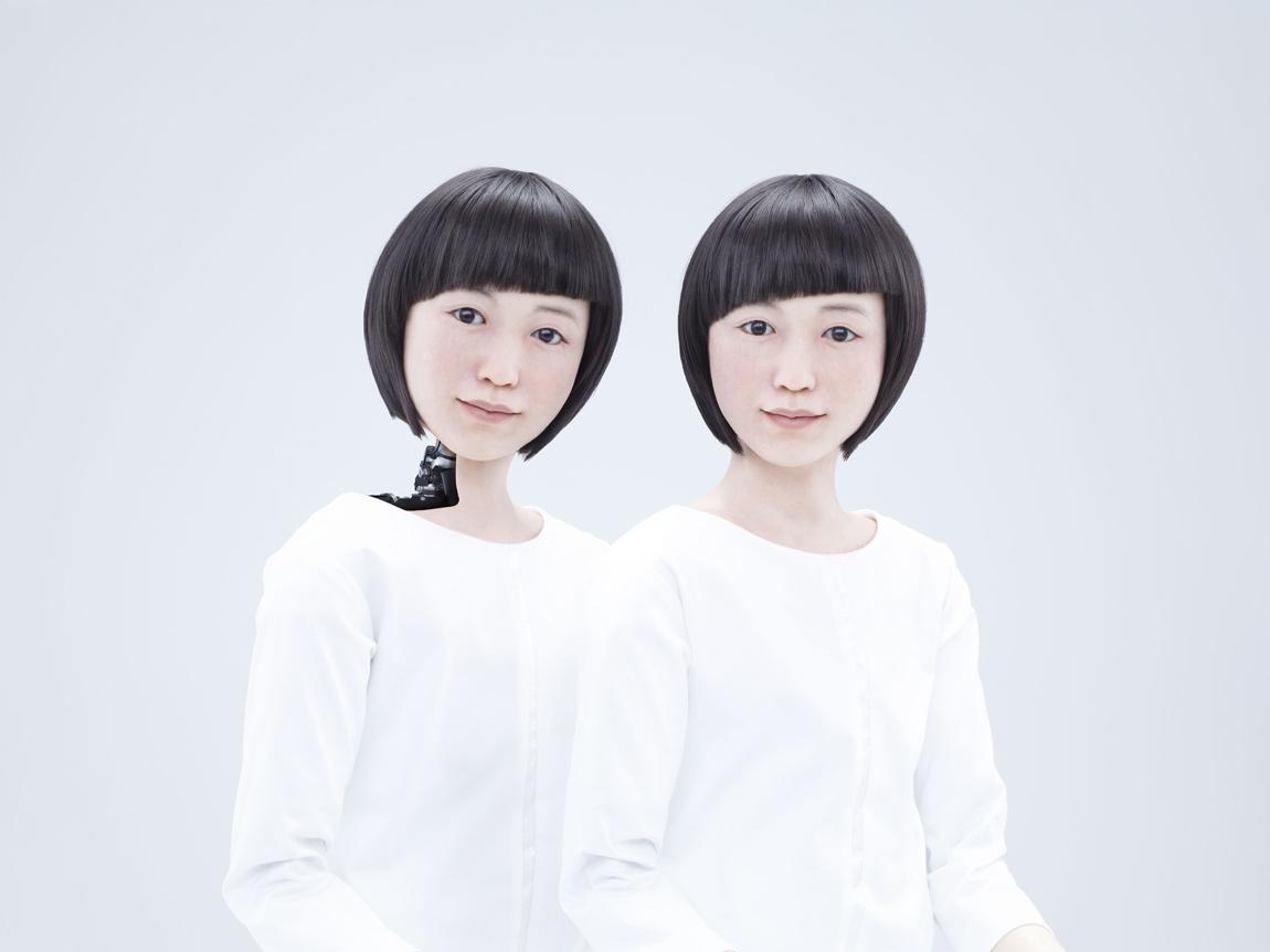 Kodomoroid, a robot news presenter that resembles a human child