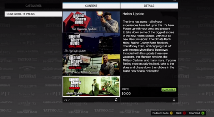 GTA 5: Heist Update and North Yankton DLC Leaked Images