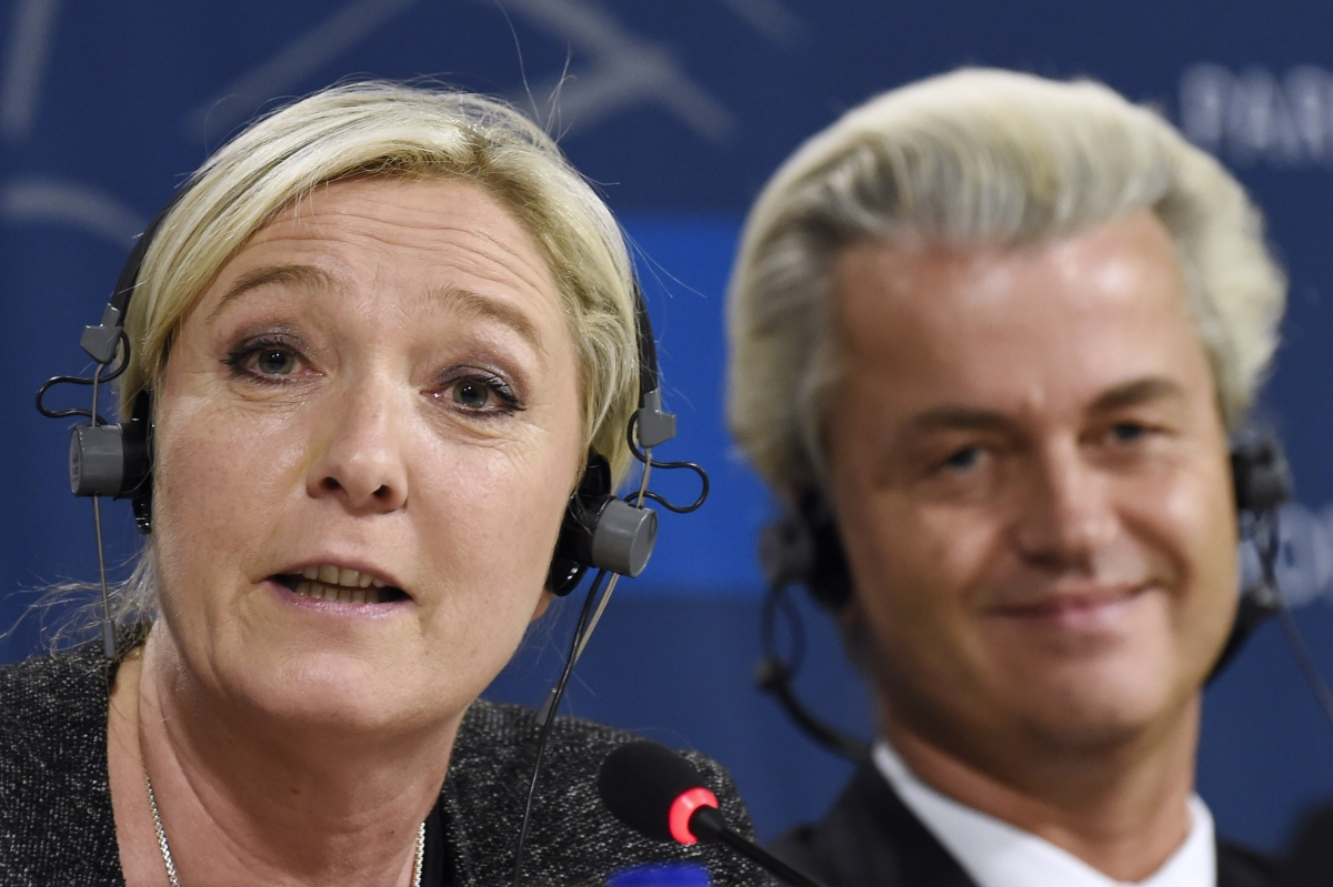 Le Pen Wilders Far-Right EU Parliament Alliance Fails