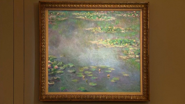 Monet's Iconic Water Lilies Painting Sells for £31.7m at Sotheby's