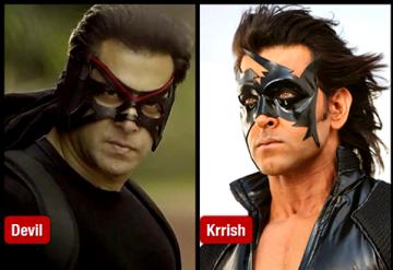 Salman Khan vs Hrithik Roshan