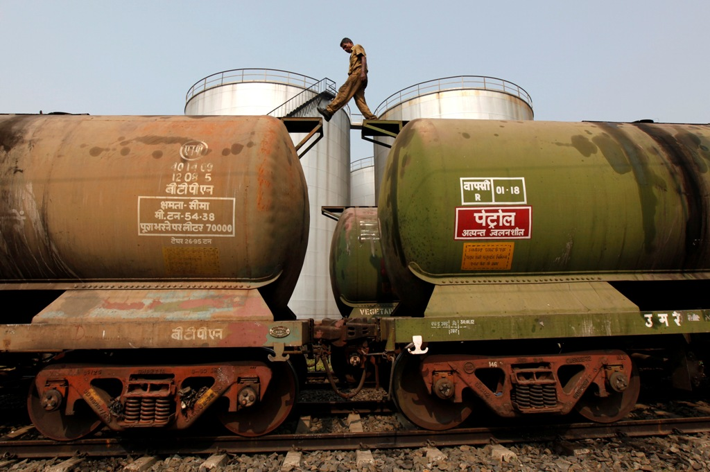India Oil Tanker Wagons