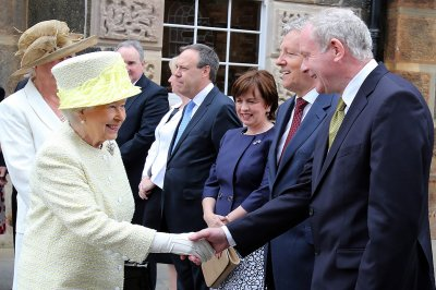 queen martin mcguinness