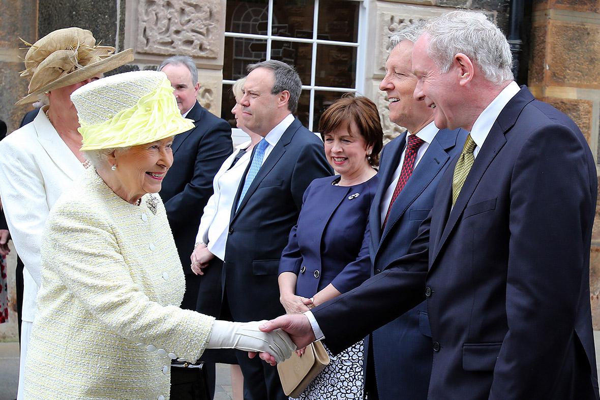 queen martin mcguinness