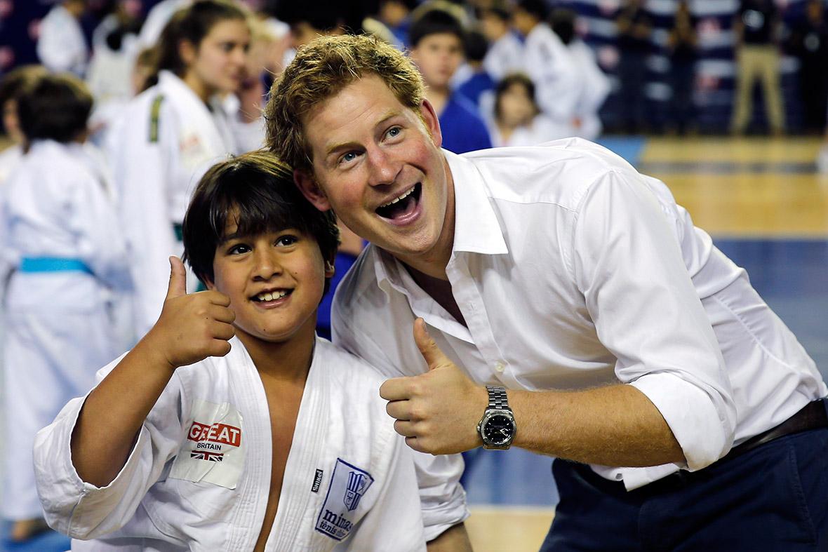 prince harry judo