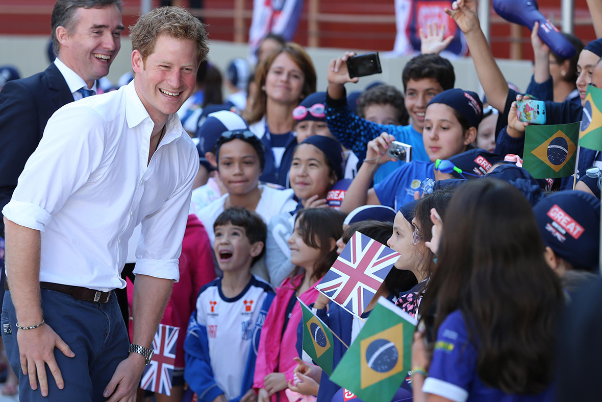 prince harry kids brazil