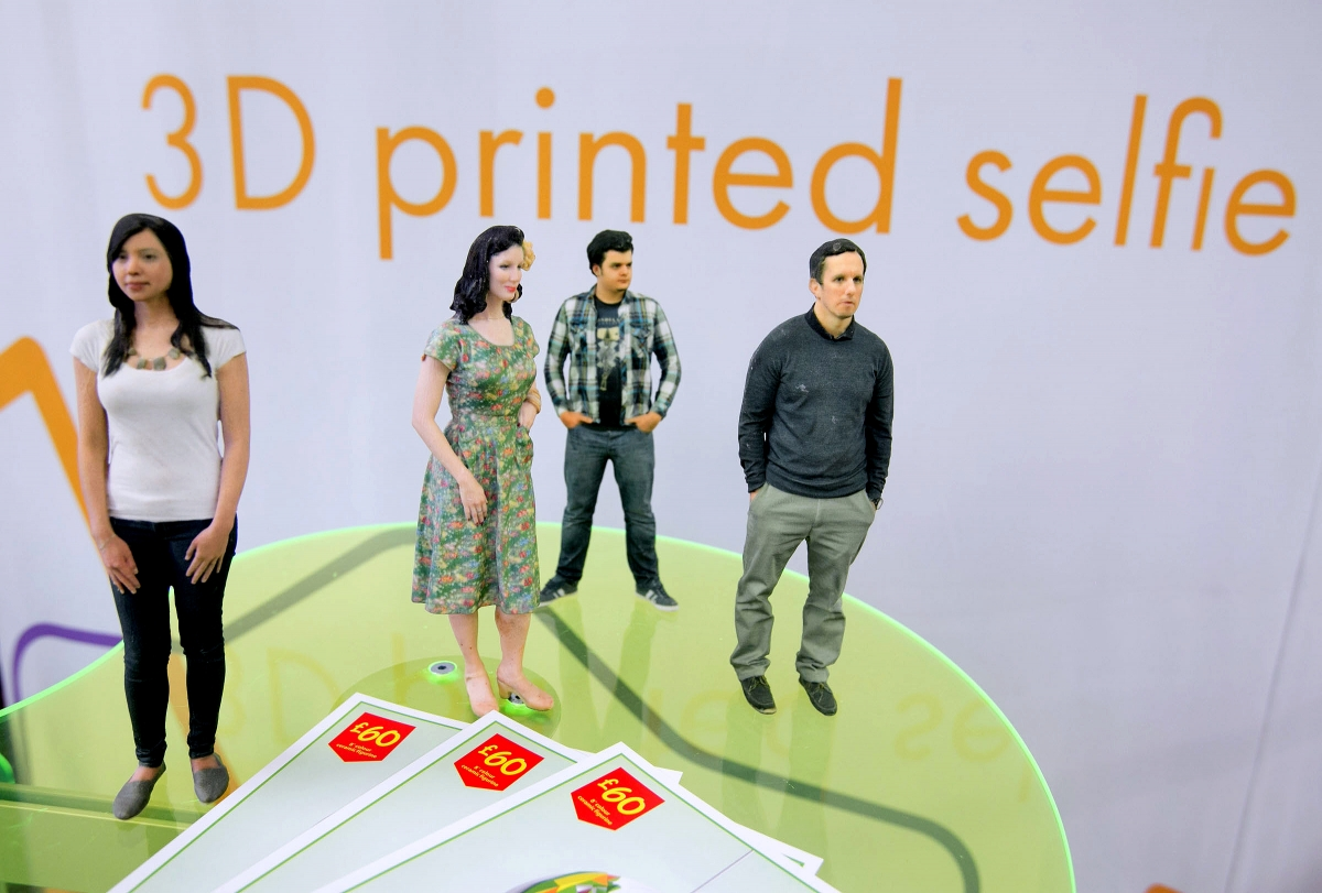 Asda's new 3D-printed Mini Me model service