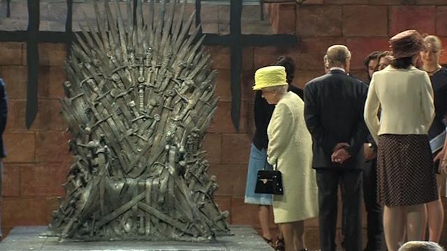 Queen Elizabeth Visits Game of Thrones Set in Northern Ireland