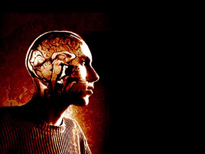 Sad brain