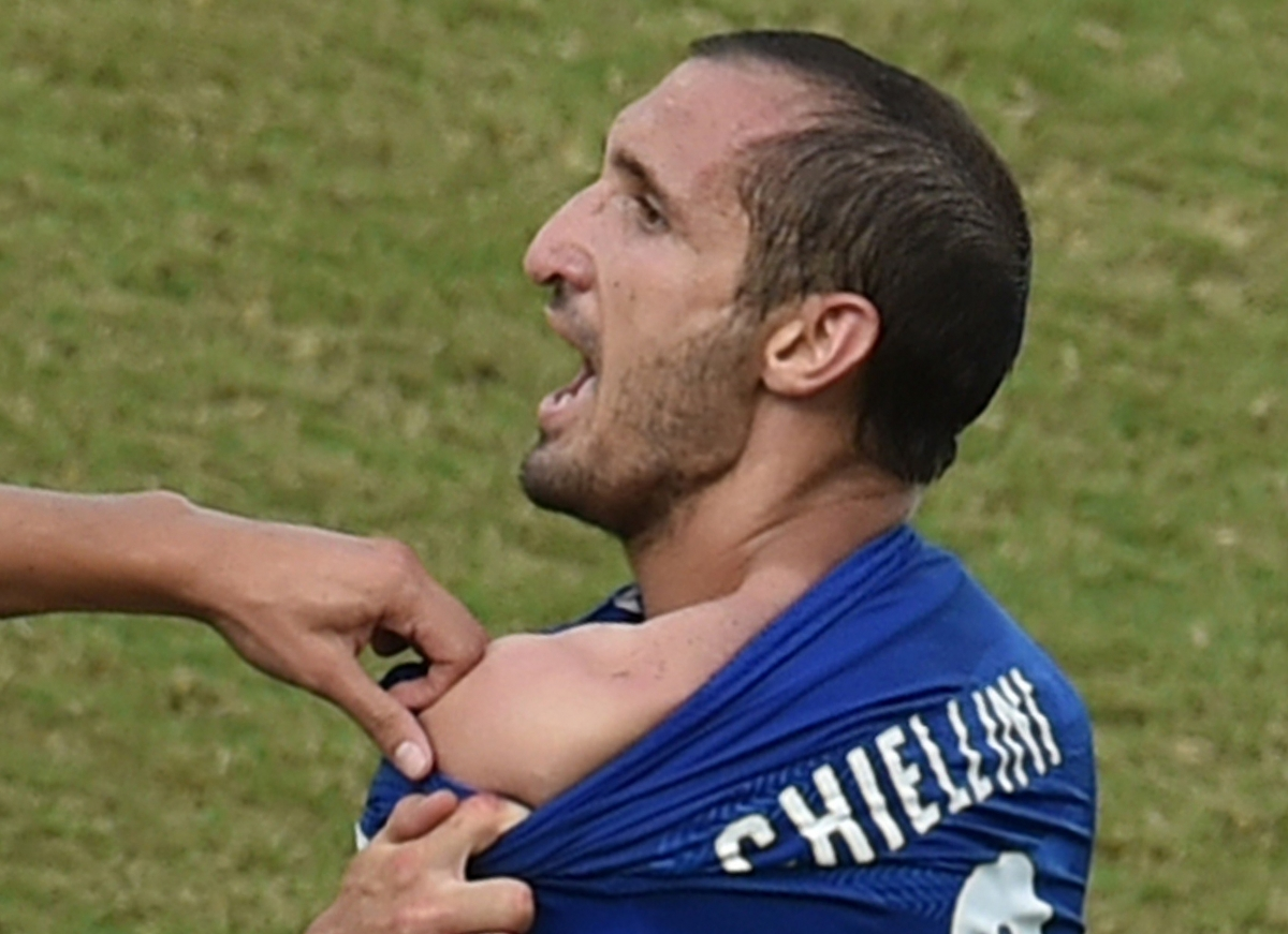 Chiellini reaction