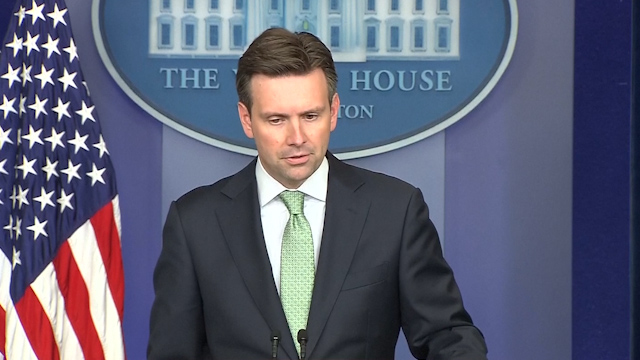 White House Welcomes Putin's Acceptance of Cease-Fire in Ukraine