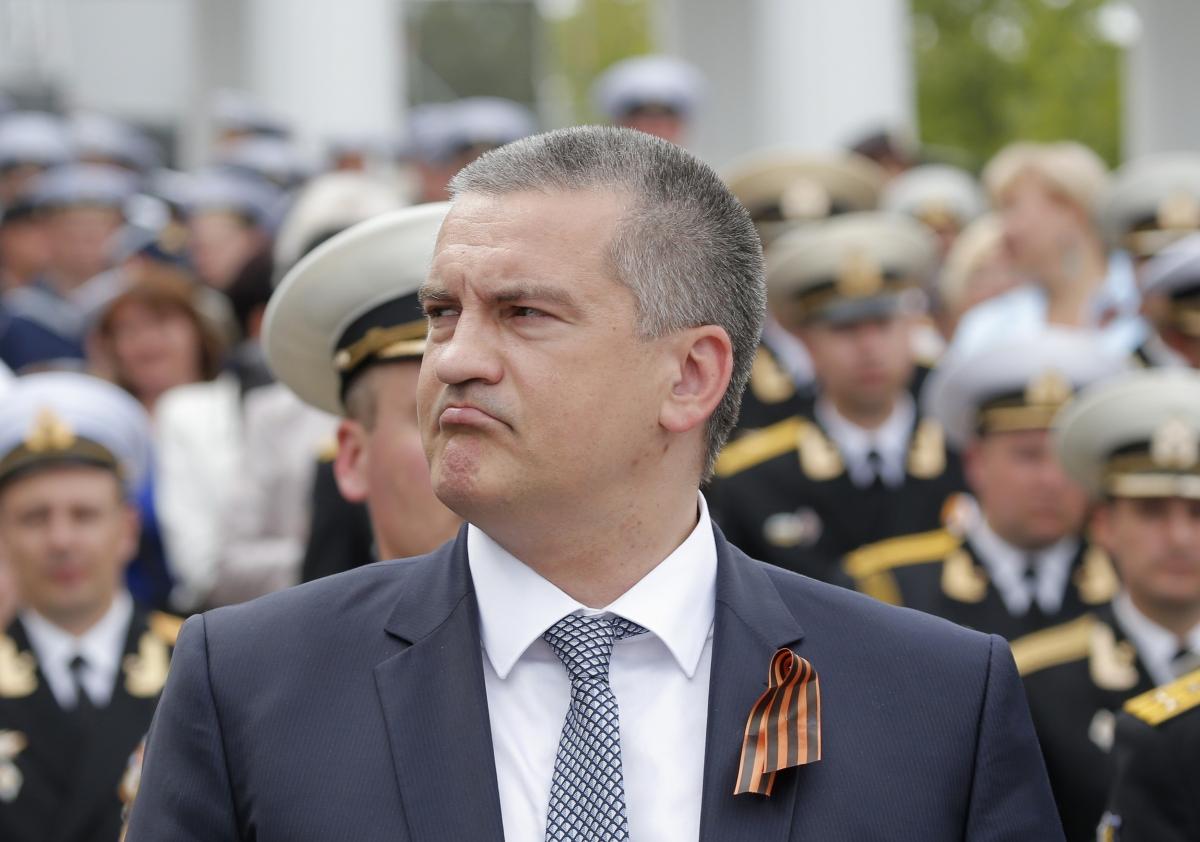 Crimea's pro-Moscow leader Sergei Aksyonov