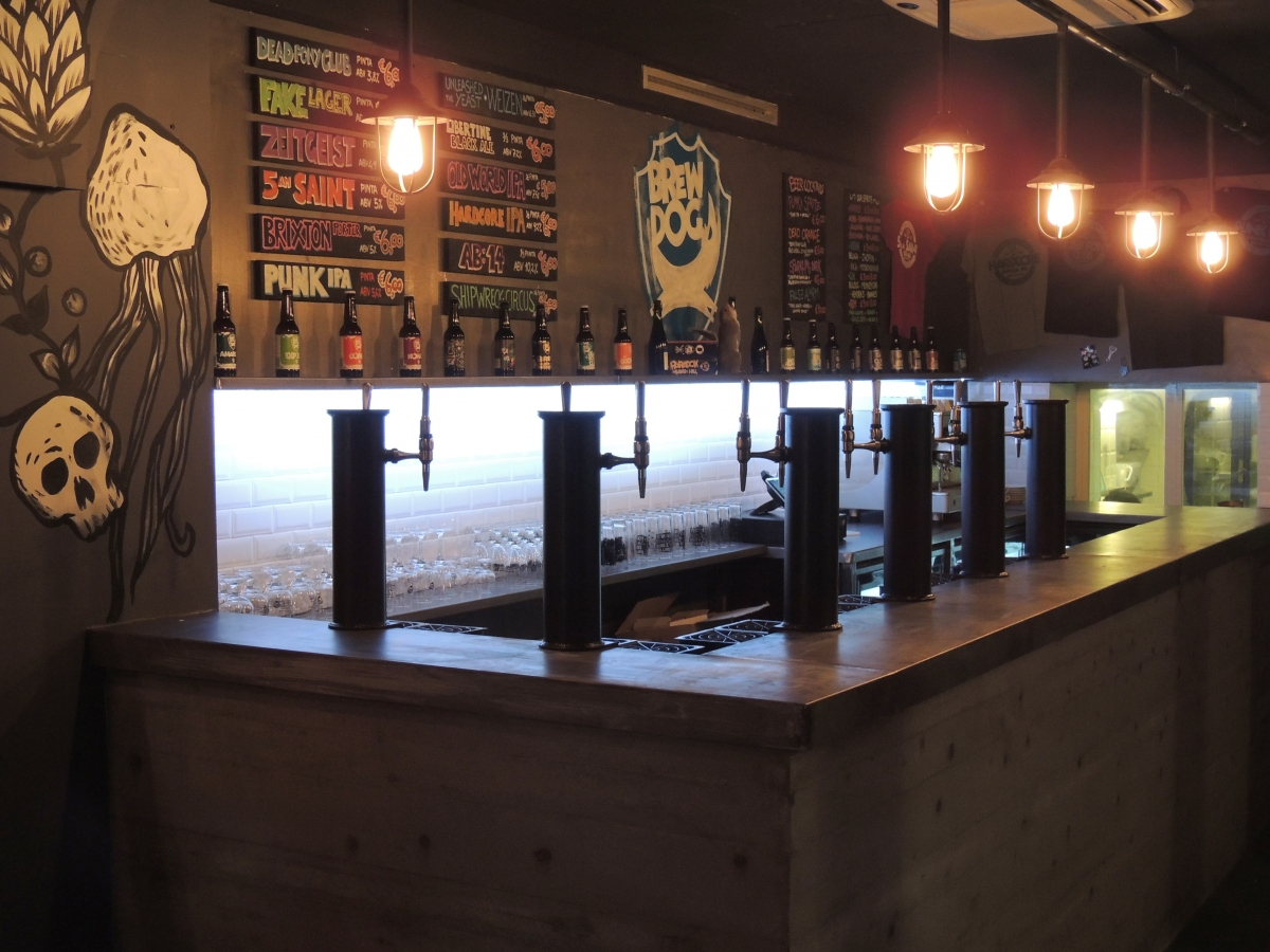 BrewDog Florence is situated at Via Faenza 21r, Firenze 50123