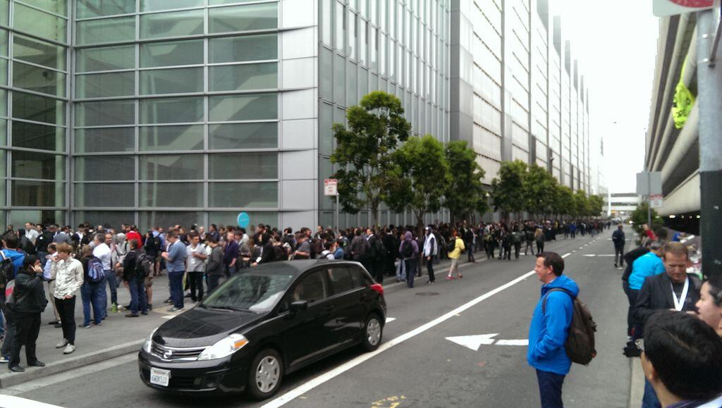 moscone center queue