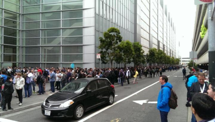 moscone center queue