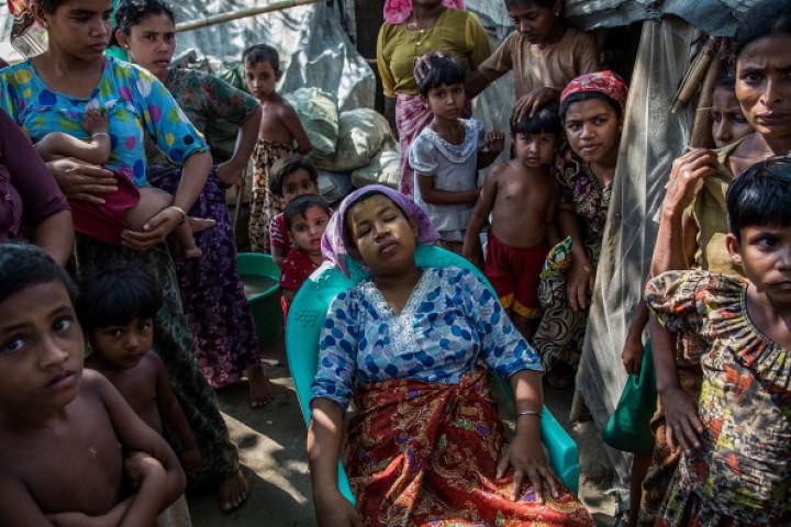 Muslim Rohingya persecution